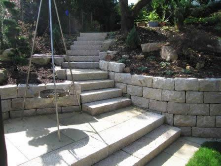 Stufenplatten aus Granit China